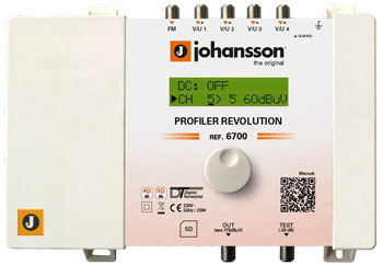 Johansson Profiler Revolution 6700