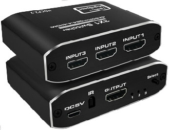 HDMI Switch 3v 4K60Hz
