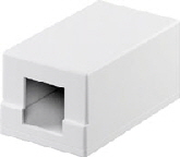 Keystone box 1-port