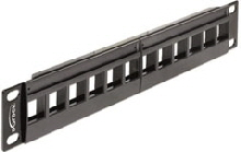 Keystonepanel 10tum-12port